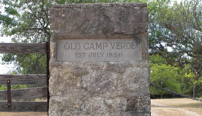 Old Camp Verde Marker