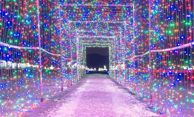 Old West Christmas Light Fest by Castle Arts Entertainment
