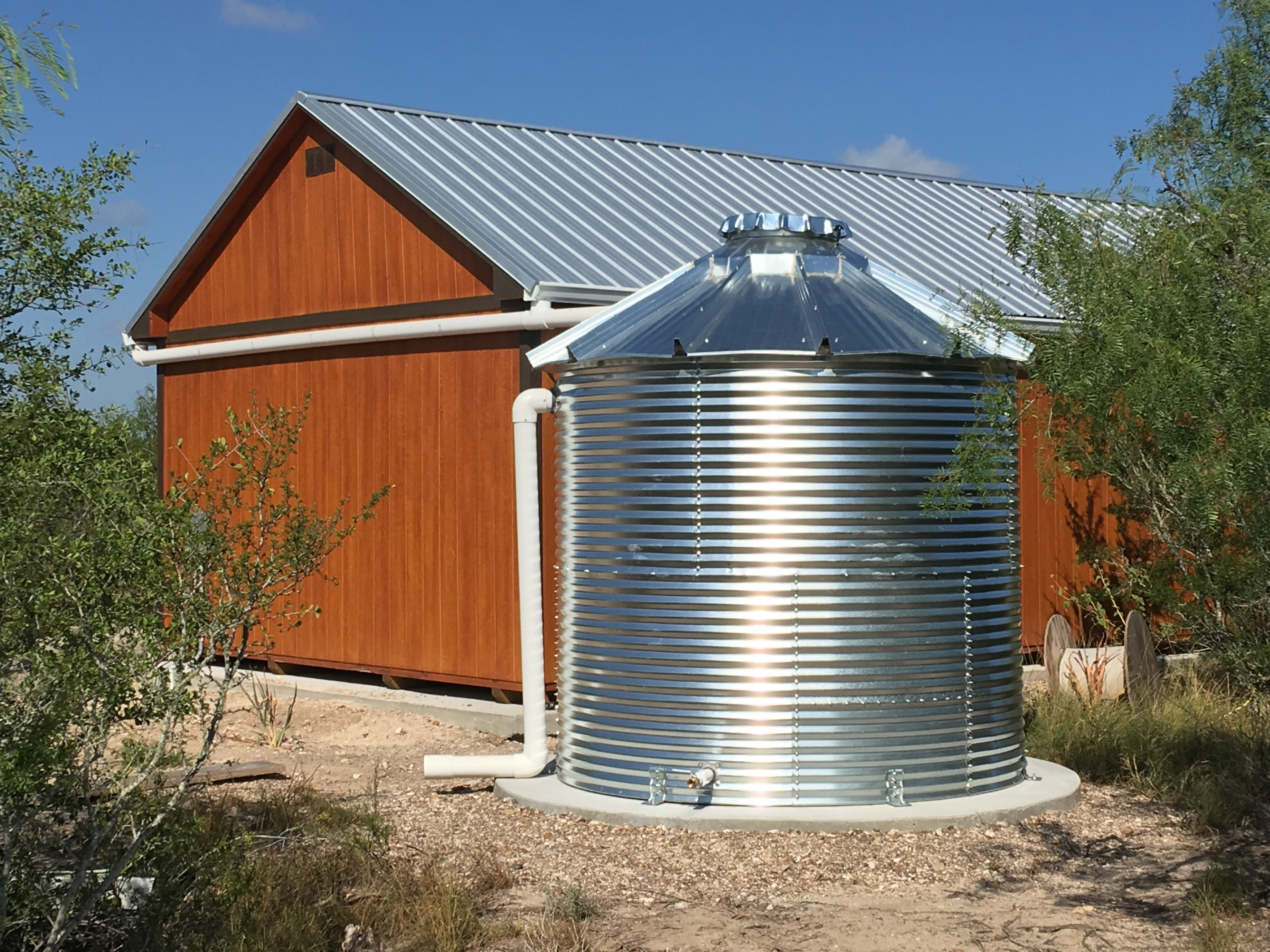 can you collect rainwater in texas