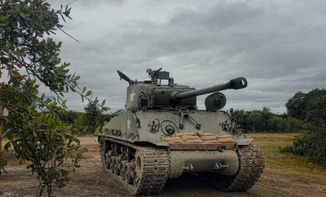 Tanks A Lot! Drive an Authentic WWII Tank at Ox Ranch in Uvalde