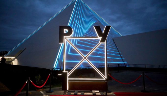A Stunning Pyramid Show is Opening at Arlington's Globe Life Park
