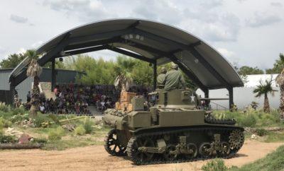 Jeb STuart Tank at the Pacific Combat Zone