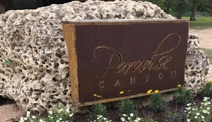 Paradise Canyon history extends back to the 1800s