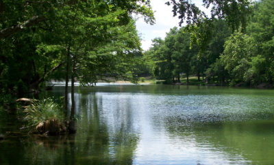 Peace on the Blanco River