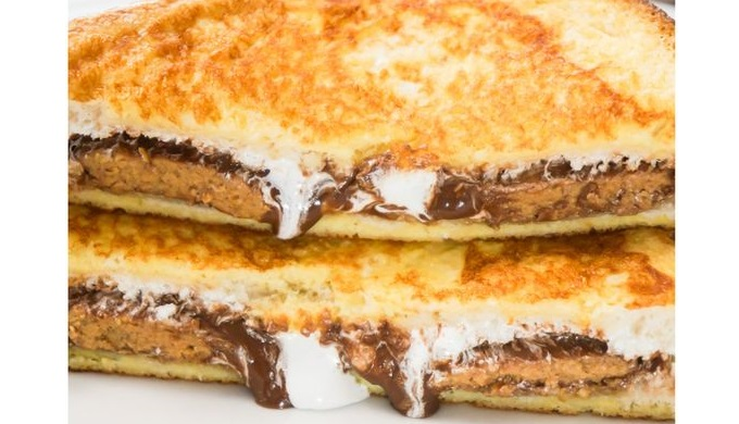 Peanut Butter Cup French Toast