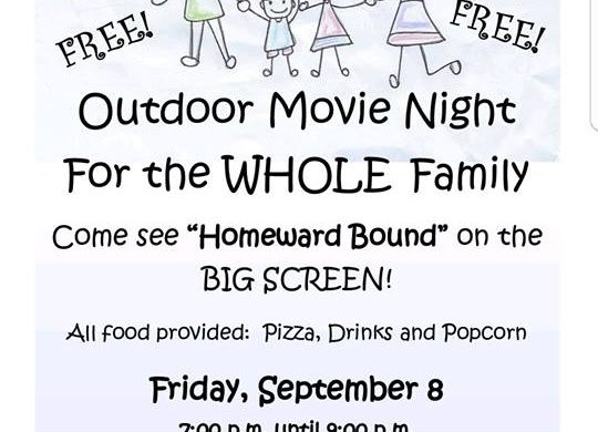 Pipe Creek Community Church Movie Night is one of the family friendly Bandera events this week.