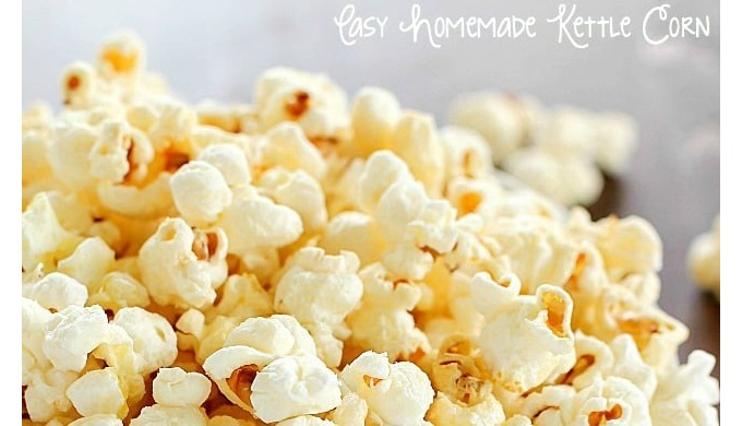 Popcorn recipes homemade kettle corn
