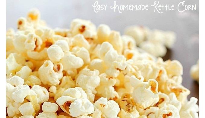 Popcorn recipes homemade kettle corn