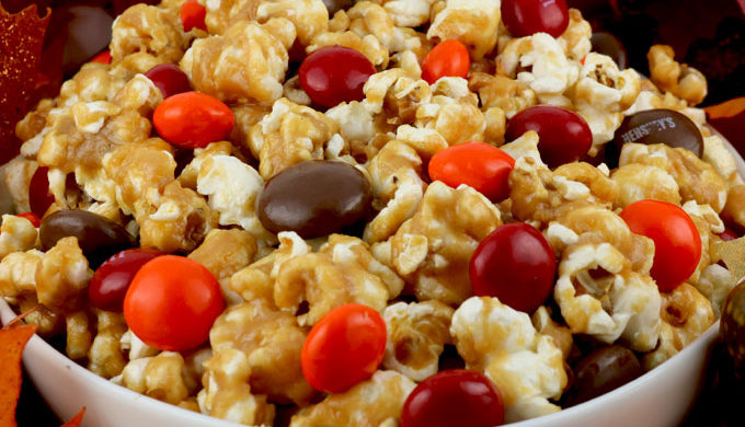 Popcorn recipes peanut butter popcorn