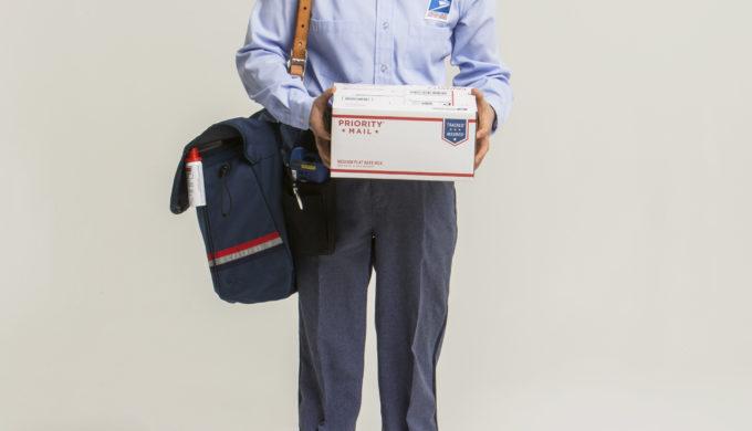 Letter Carrier Hyunkyung Kim in Uniform