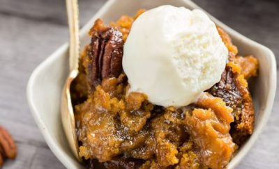 Pumpkin Pecan Pudding Cake