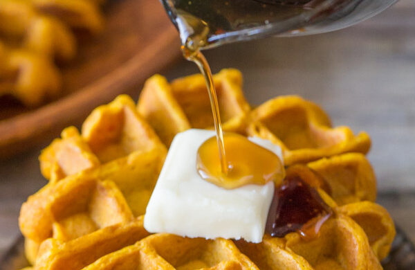 Pumpkin spice recipes waffles