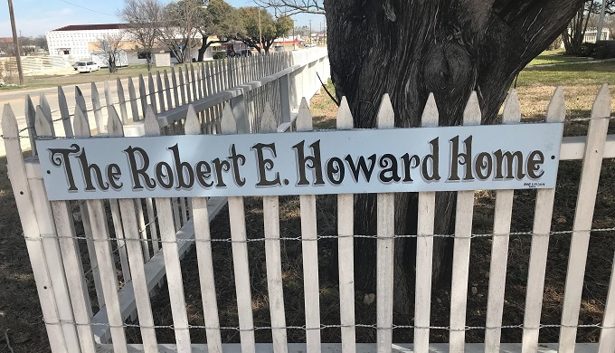 The Robert. E. Howard Museum: Texas' Greatest Literary Treasure