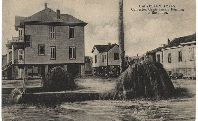 Raising Galveston Island in 1904