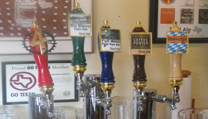 Real Ale Taps