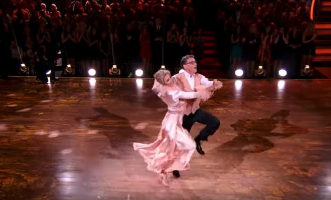 Rick Perry on Dancing with the Stars