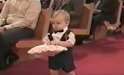 Little Ring Bearer Stirs Things Up at the Wedding Party [WATCH]