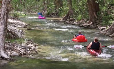 Tubing on the Rio Frio
