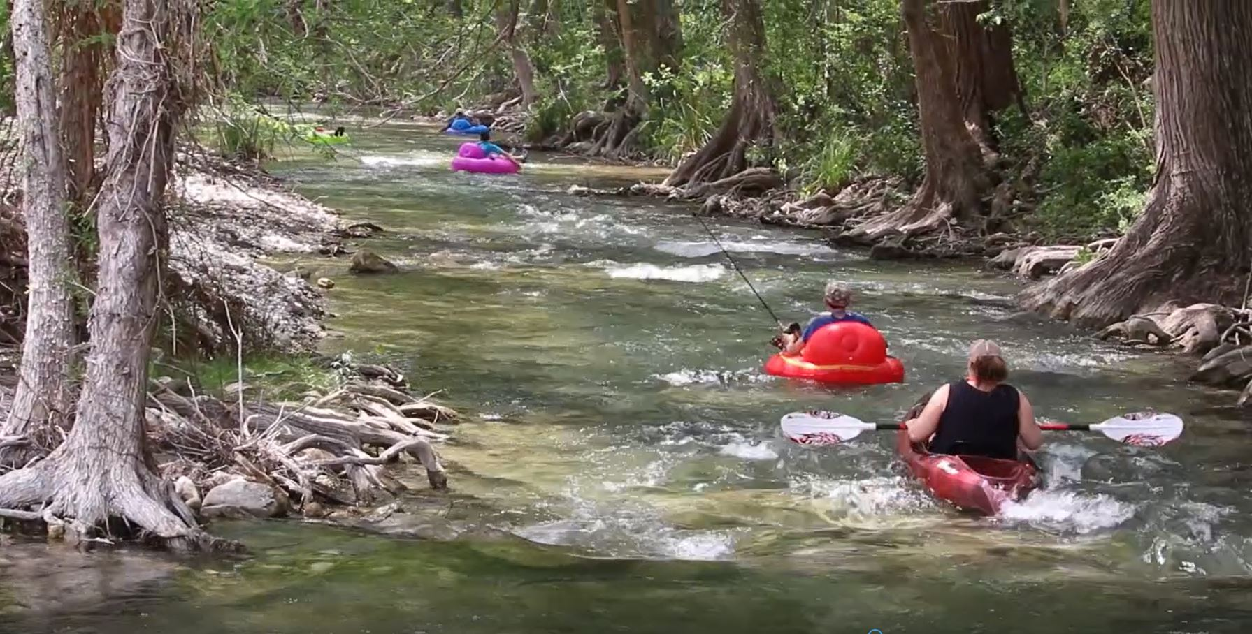 Family Fun On The Frio River Video Texas Hill Country