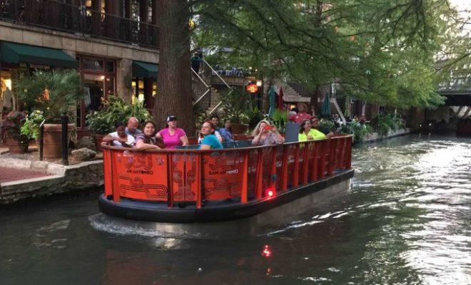 River Walk barges