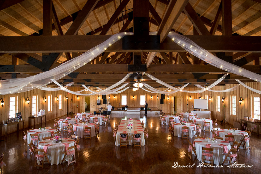 Rustic Wedding Reception At The Springs