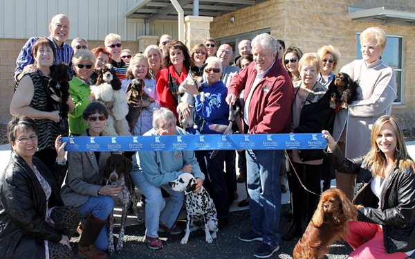 San Antonio Kennel Club ribbon-cutting