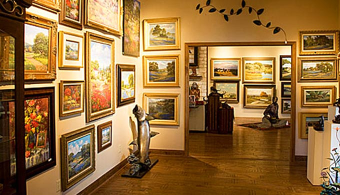 Salado is the Texas Mecca for Art Lovers & Historians