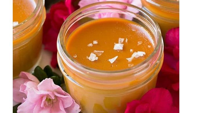 Salted Caramel Recipes pots de creme