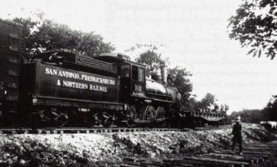 San Antonio Fredericksburg and Northern Railway Train
