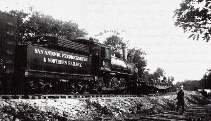 San Antonio Fredericksburg and Northern Railway Train