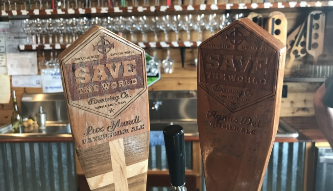 Save The World TapHandles