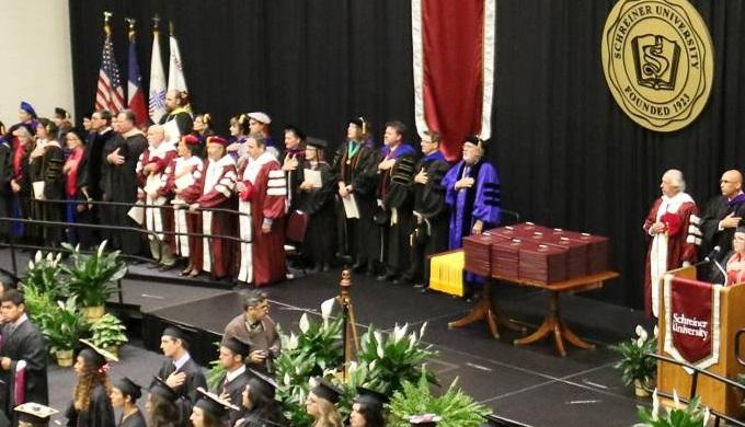Schreiner University Commencement