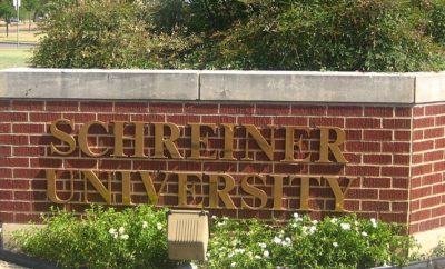 Schreiner University Entrance