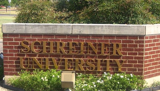 Schreiner University Entrance