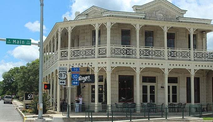 Shop at small businesses like Dienger Trading Company in Boerne for Small Business Saturday