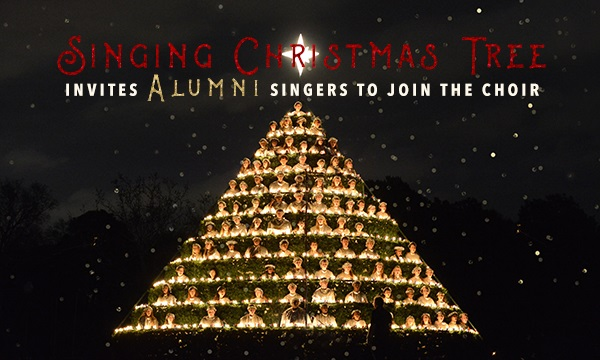 Belhaven College Singing Christmas Tree