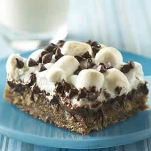 s'mores brownie
