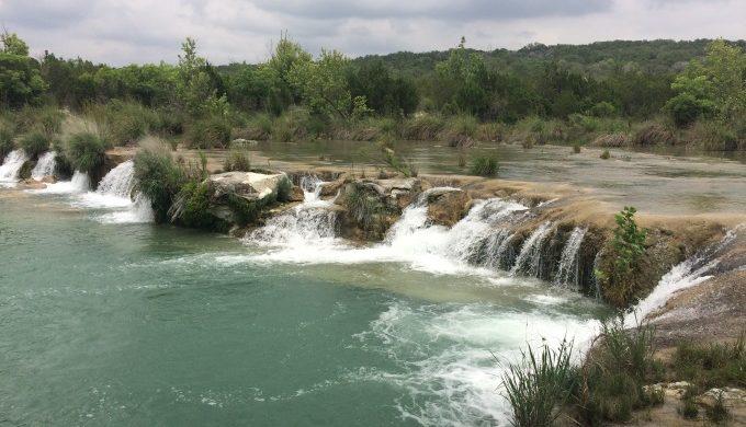South Llano River Falls