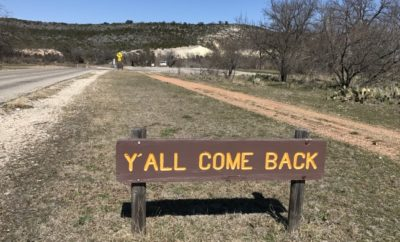 South Llano State Park Sign