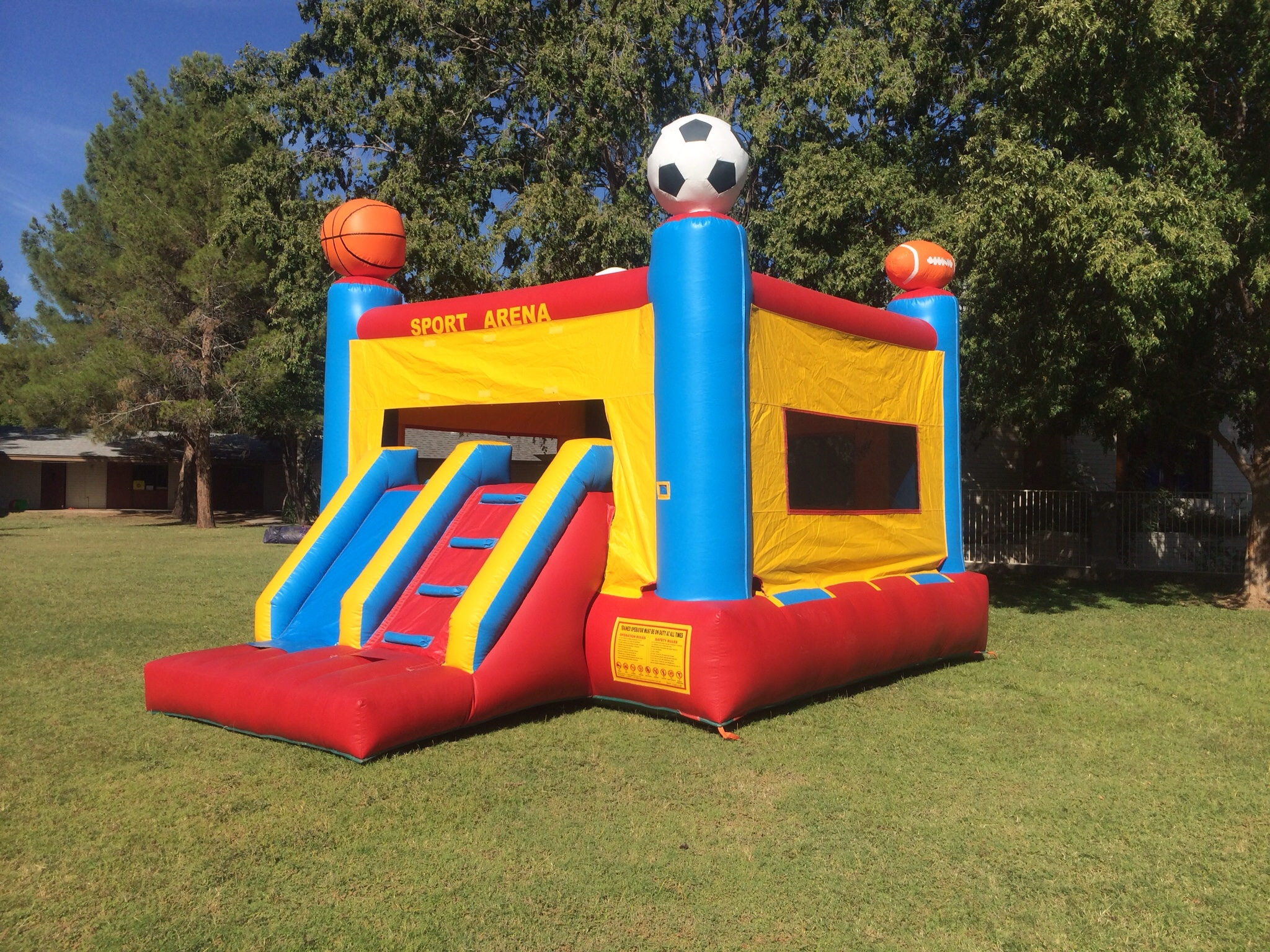Taking Bouncy Castles to a Whole New Level: Boss Baby Level