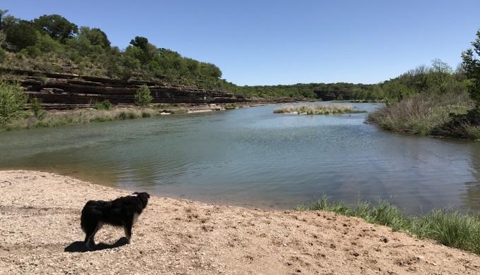 James River Island Llano River