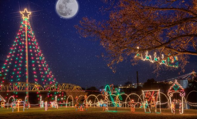 Starry Starry Nights Lighted Christmas Park in Llano is another of the Hill Country holiday events
