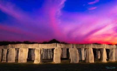 Stonehenge II at Night