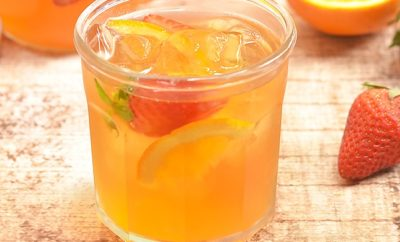 Iced Tea Recipes Strawberry Orange Refrigerator Tea