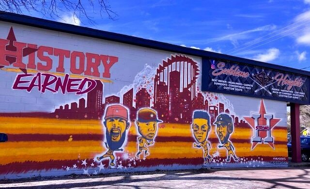 Show Off Your Astros Pride & Take a Selfie Next to These Stunning Murals