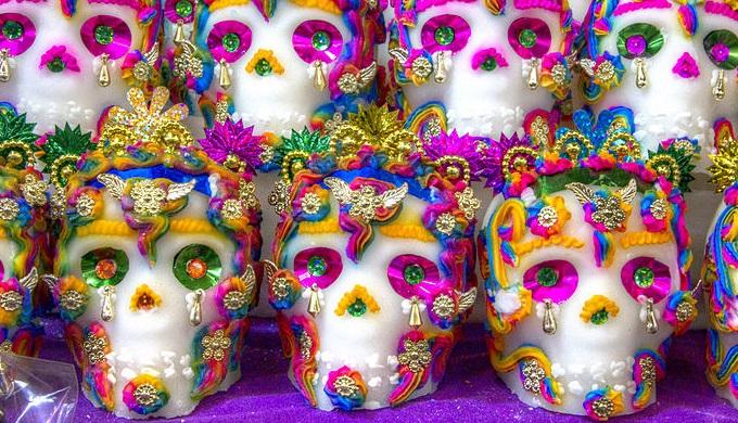 Sugar Skulls Dia de los Muertos
