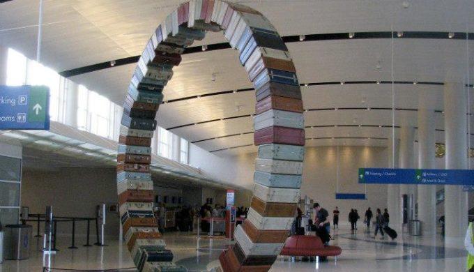 Texas Airports Boast Mind-Boggling Displays of Artwork