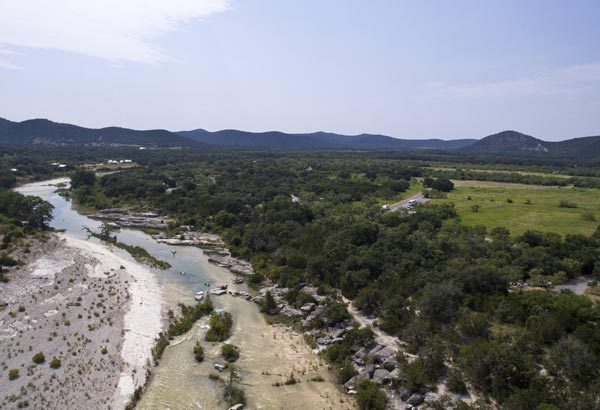 This appropriately named destination is perfect for the sweltering Texas heat with its icy, cold waters.