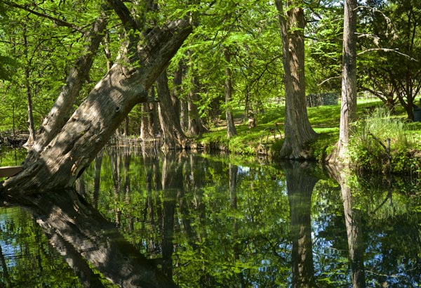 If you like rope swings, casual river swimming, and shaded parks, this Hill Country watering hole is perfect for you.