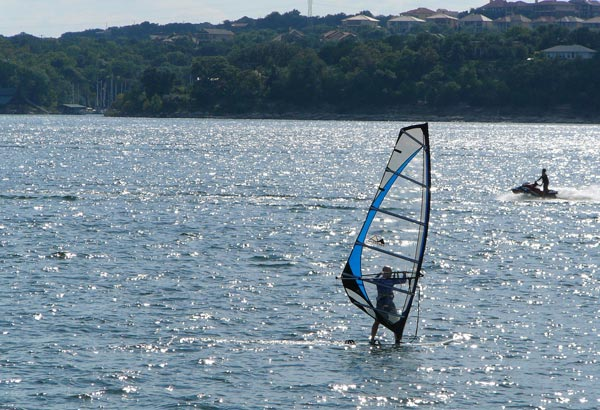 From windsurfing, to sailing, to swimming this park on the banks of Lake Travis has pretty much anything you want for your summer water adventure.